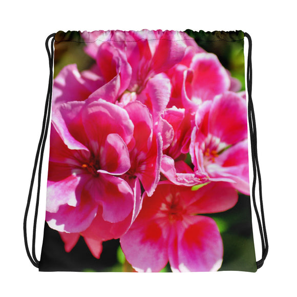Drawstring bag - Italian Style - Geranium 1 - I Love Giveaways