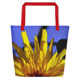 Beach Bag - Italian Style - Dandelion Flower - I Love Giveaways