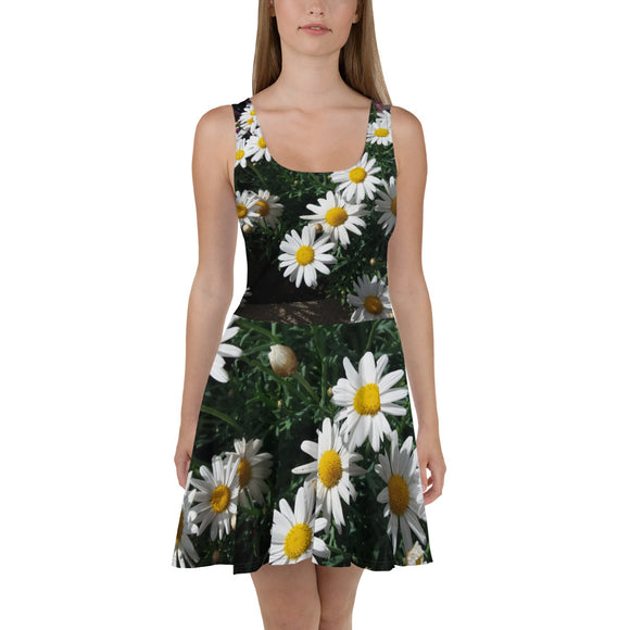 Skater Dress - Italian Style - Daisy. Size: XS-S-M-L-XL-2XL-3XL - I Love Giveaways