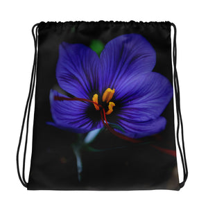 Drawstring bag - Italian Style - Saffron Flower - I Love Giveaways