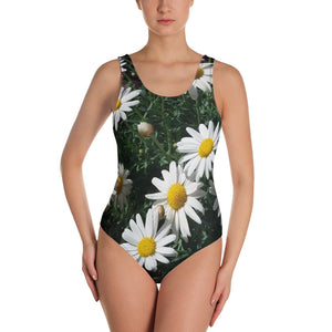 One-Piece Swimsuit - Italian Style - Daisy. Size: XS-S-M-L-XL-2XL-3XL - I Love Giveaways