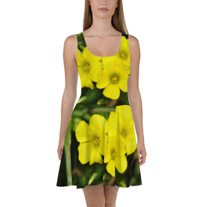 Skater Dress - Italian Style - Oxalis. Size: XS-S-M-L-XL-2XL-3XL - I Love Giveaways