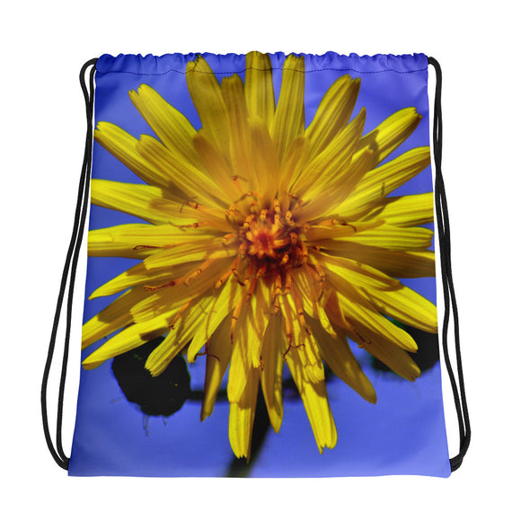 Drawstring bag - Italian Style - Dandelion Flower - I Love Giveaways