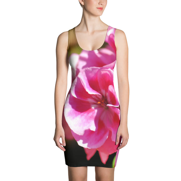 Dress - Italian Style - Geranium 1. Size: XS-S-M-L-XL - I Love Giveaways