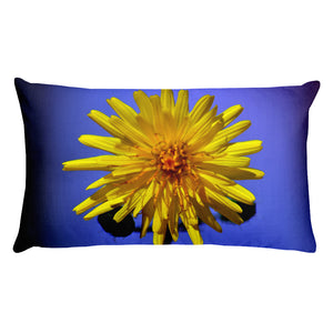 Premium Pillow - Italian Style - Dandelion Flower. - I Love Giveaways