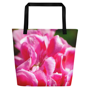Beach Bag - Italian Style - Geranium 1 - I Love Giveaways