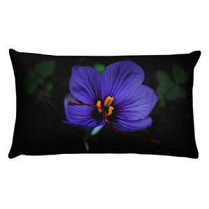 Premium Pillow - Italian Style - Saffron Flower. - I Love Giveaways