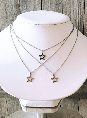 Stars Hollow Necklace - Gilmore Girls - Single Star Necklace