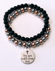 You are a gift from God Bead Bracelet
