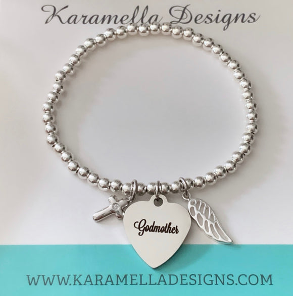 Godmother Special Keepsake Bracelet