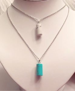 Simply Beautiful Howlite Necklaces