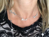 Name Necklaces Handmade in Sterling Silver