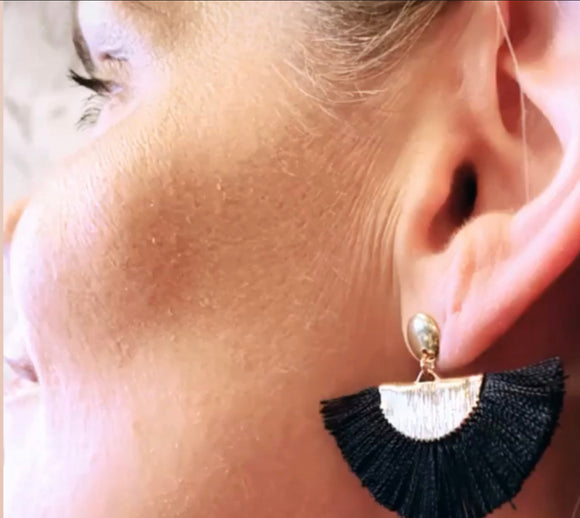 Luxurious Tassel Earrings