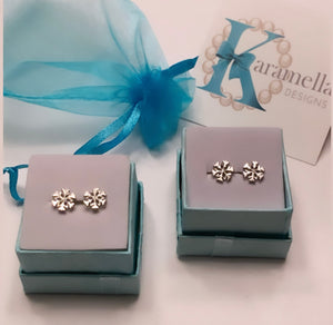 Holiday Snowflake Earrings inspired by Frozen