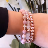 Pretty in Pink Karamella Stack
