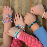 Personalized beaded Childrens Bracelets
