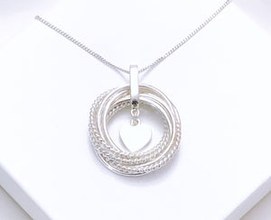 70th Birthday Circle of Life Pendant
