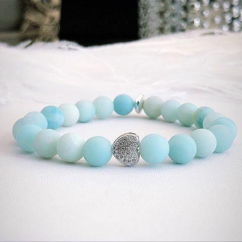The Hope Bracelet with African Amazonite