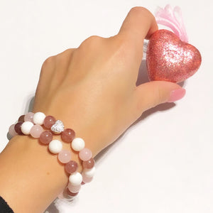 Spread the love Strawberry Quartz Bracelet