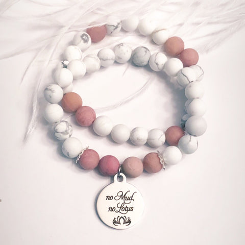 No Mud No Lotus Bracelet Set
