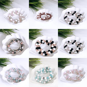 Gemstone Bracelet (no charm)