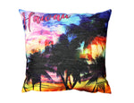 Pillow Cover: RAINBOW SUNSET