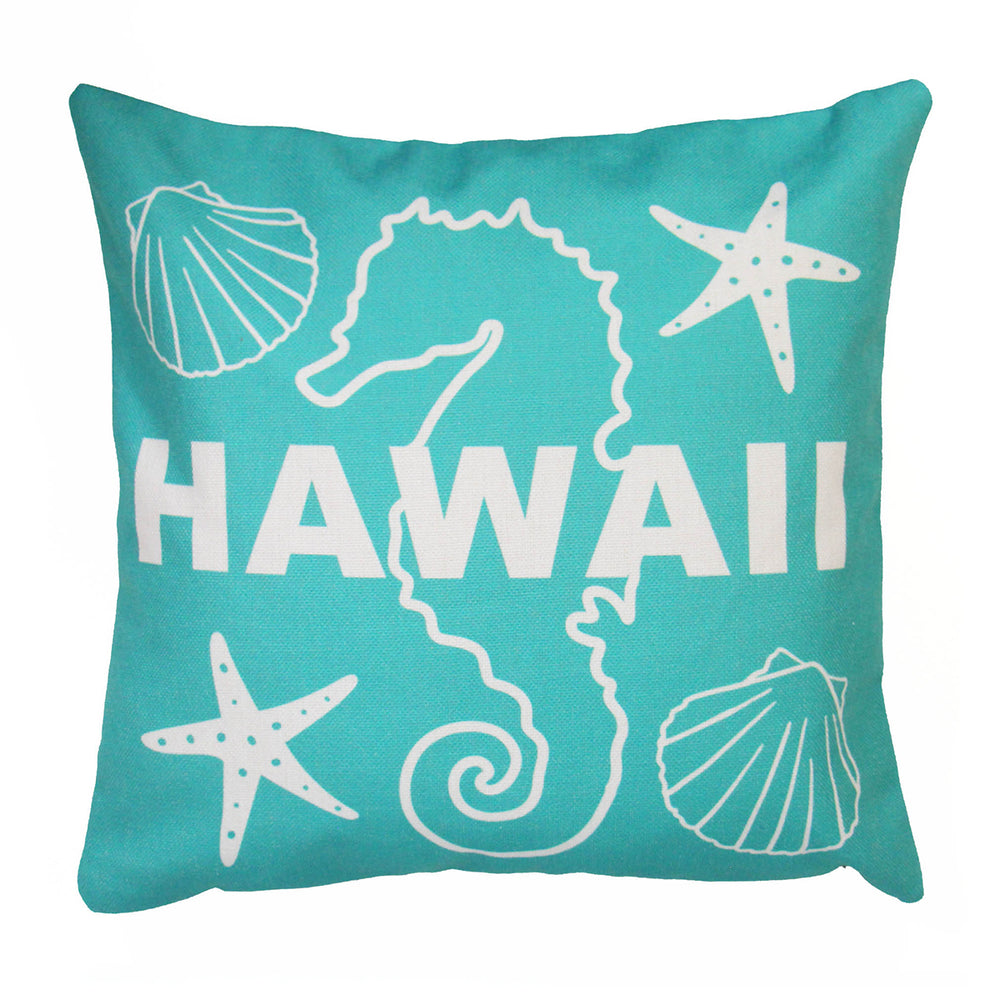 Pillow Cover: SEAHORSE HAWAII