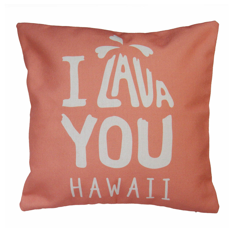 Pillow Cover: I LAVA YOU