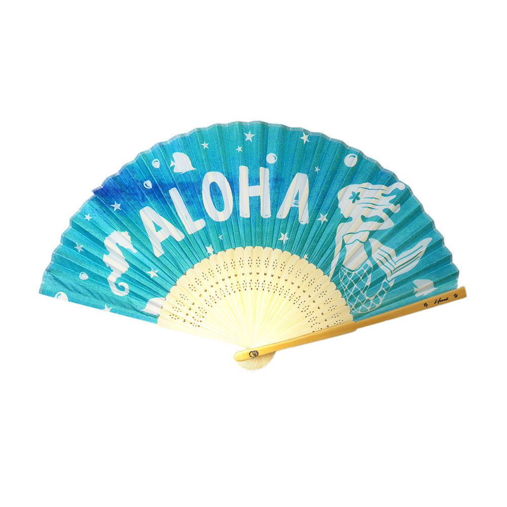 FAN - MERMAID ALOHA