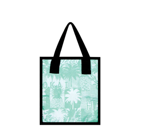 Small Cooler Bag - PINEAPPLE - GREEN / BLUE