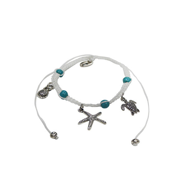 STONE BRACELET-PINEAPPLE/TURTLE/STARFISH
