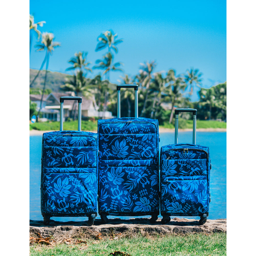 LUGGAGE BAG : MONSTERA HONU 2 - 3PCS SET