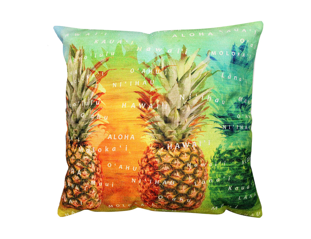 Pillow Cover: PINEAPPLE ISLAND