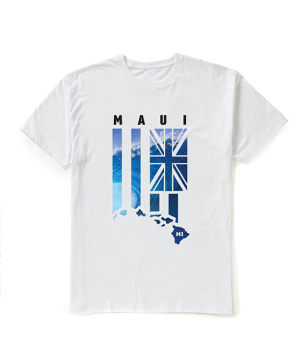 WAVE FLAG Graphic T-shirt - MAUI