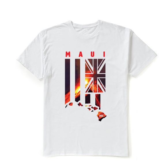 LAVA FLAG Graphic T-shirt - MAUI