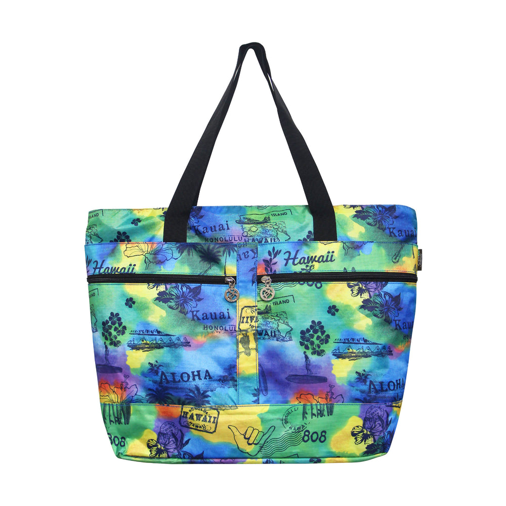 Beach Tote Bag POSTCARD - MULTI