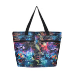Beach Tote Bag RAINBOW NIGHT - MULTI