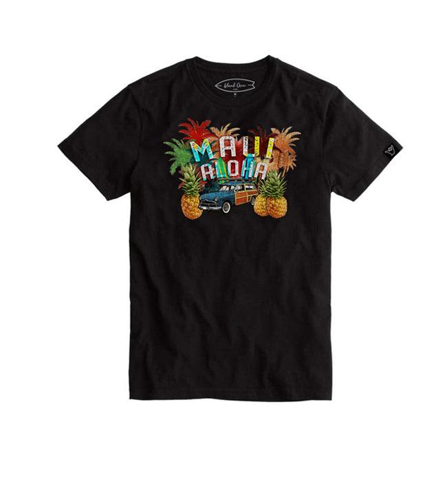 MAUI VOLKS W/PINEAPPLE Graphic T-shirt