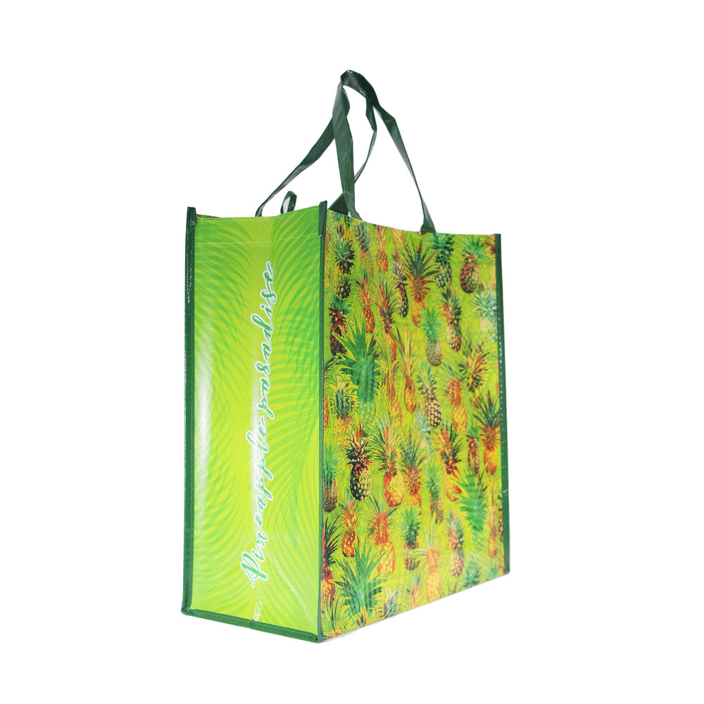 Reusable NON-WOVEN BAG - Pineapple Paradise Large