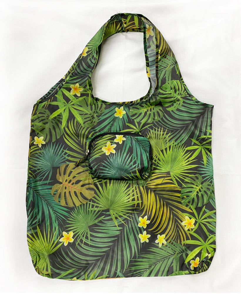 Lightweight Eco Bag: PALM FOREST