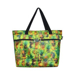 Beach Tote Bag PINEAPPLE PARADISE