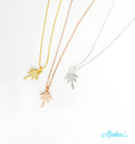 18K GOLD OR 18K ROSE GOLD NECKLACE