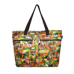 Beach Tote Bag HULA DIAMOND HEAD - MULTI