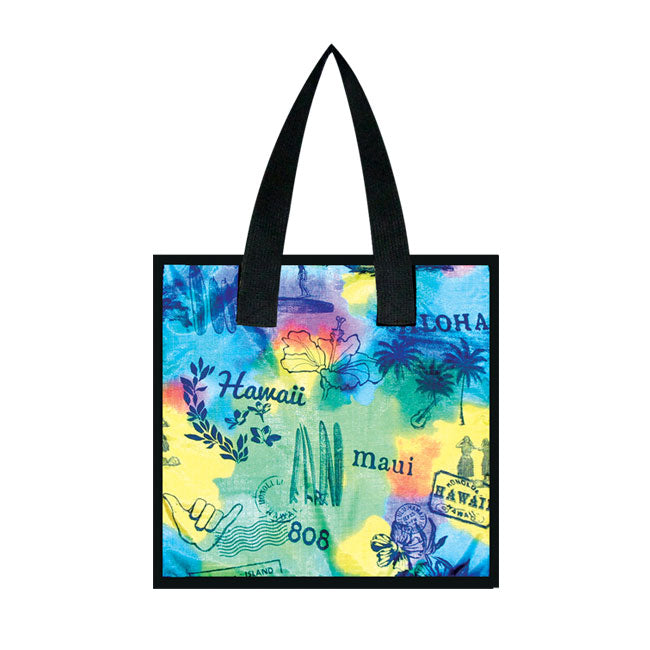 Large Cooler Bag - POST CARD - MULTI
