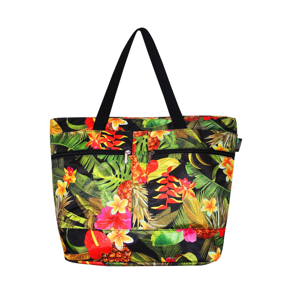 Beach Tote Bag TROPICAL GARDEN
