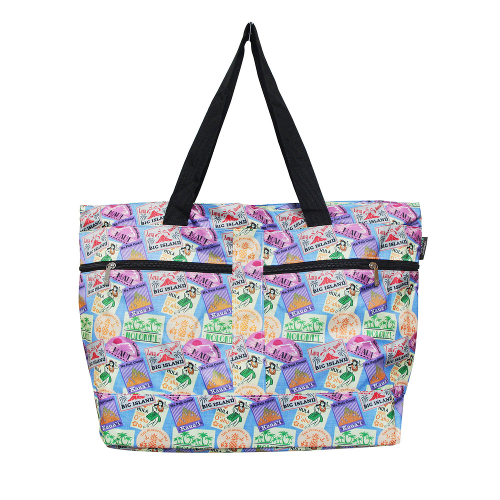 Beach Tote Bag ISLAND WAPEN