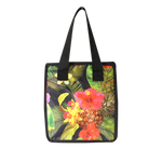 Small Cooler Bag - TROPICAL GARDEN - BLACK