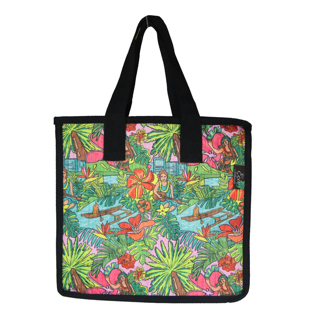 Large Cooler Bag - HULA PARADISE