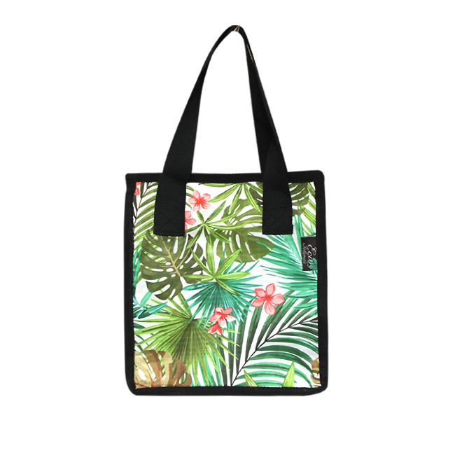 Small Cooler Bag - PALM FOREST - CREAM