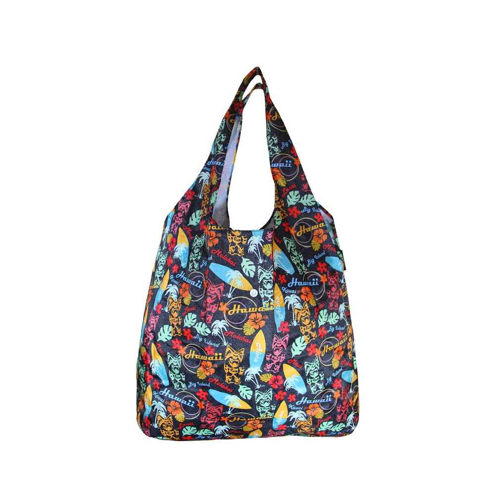 Foldable Reusable Shopping bag TIKI SURF